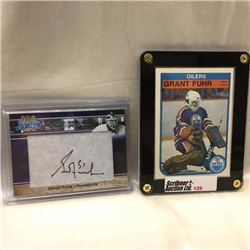 Grant Fuhr - Hockey (2 Cards)