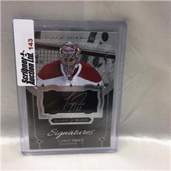 2016/17 Upper Deck - Hockey - Signatures Silver on Black