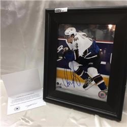 Framed Autographed Hockey 8x10 Photo