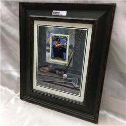 Framed Golf Card / Picture