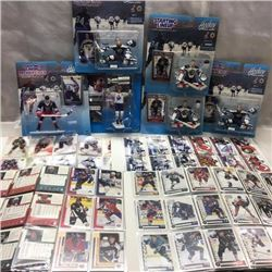 Starting Lineup - Hockey Action Figures (6) & Hockey Cards