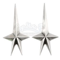 STAR TREK INTO DARKNESS (2013) - Pair of Starfleet Honor Guard's Shoulder Pins