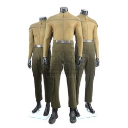 STAR TREK (2009) - Set of Three Men's Kelvin Operations Uniforms