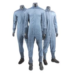 STAR TREK (2009) - Set of Three Starfleet Academy Cadet Training Jumpsuits