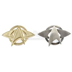 STAR TREK (2009) and STAR TREK INTO DARKNESS (2013) - Starfleet Pin Set