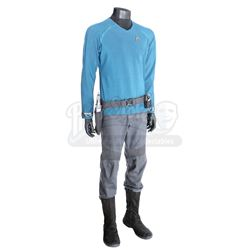 STAR TREK INTO DARKNESS (2013) - Mr. Spock's Enterprise Sciences Uniform with Starfleet Phaser, Hols