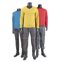 STAR TREK (2009) - Set of Three Enterprise Uniforms