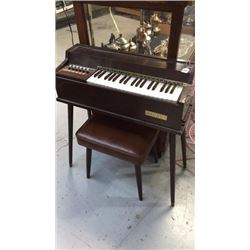 Magnus Electric Cord Organ With Stool