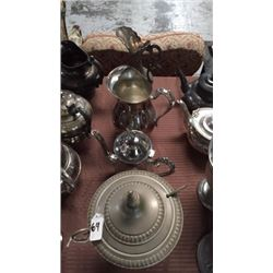 4 silver plate pieces