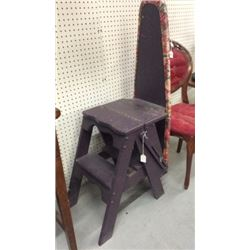 Iron board Step Stool