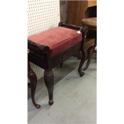 Carved Handled Seat