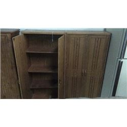 Pair of upright cabinets