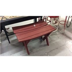 Pair wooden benches