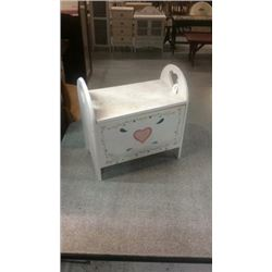 Wooden doll chest