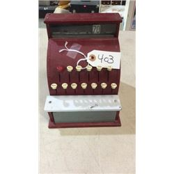 Small toy cash register