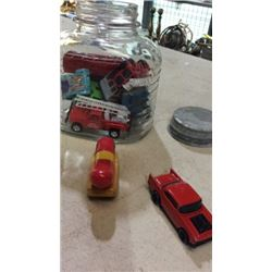 Jar of cars