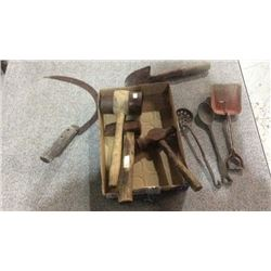 Lot of antique hand tools