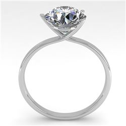 2.01 CTW Certified VS/SI Diamond Engagement Ring 18K White Gold - REF-940N5Y - 32247