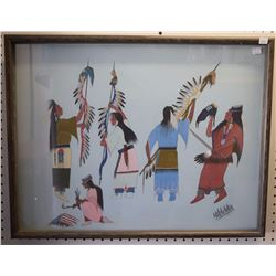 COMANCHE PAINTING (WATCHETAKER)
