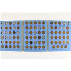 2-PARTIAL LINCOLN CENT SETS 1909-1940 (69 COINS) &
