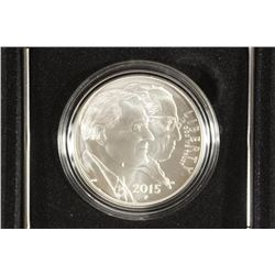 2015-P MARCH OF DIMES UNC SILVER DOLLAR