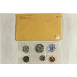 1962 US SILVER PROOF SET (WITH ENVELOPE)