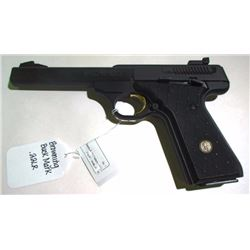 Browning Buck Mark 22 LR Semi-Auto Pistol.