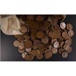 5000 LOOSE MIXED DATE LINCOLN WHEAT CENTS