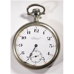 Admiral Tracy Watch Co  Open-Face Pocket Watch