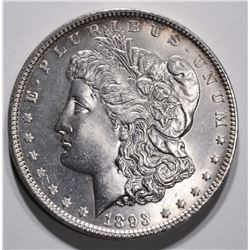 1893 MORGAN DOLLAR CHOICE BU+
