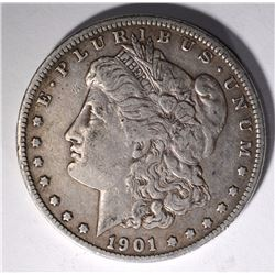 1901-S MORGAN DOLLAR XF SEMI-KEY ORIGINAL