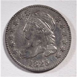 1825 CAPPED BUST DIME  XF