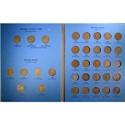 FLYING EAGLE & INDIAN CENT PARTIAL SET