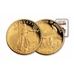 2016-W Gold Eagle 1oz NGC Early Release PF70
