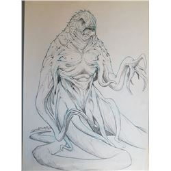 Dagon (2001) Character Design #2 Original Concept Art