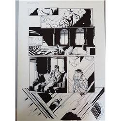 Deus Ex Original Art, Comic Book #2 Page 2-3 INK