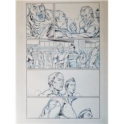 Deus Ex Original Art, Comic Book #2 Page 11 INK