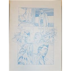 Deus Ex Original Art, Comic Book #3 Page 16 Pencil