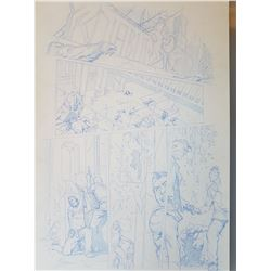 Deus Ex Original Art, Comic Book #3 Page 20 Pencil