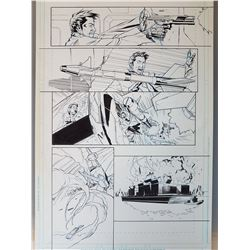 Deus Ex Original Art, Comic Book #6 Page 2 INK