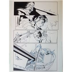 Deus Ex Original Art, Comic Book #6 Page 3 INK