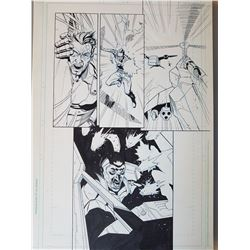 Deus Ex Original Art, Comic Book #6 Page 4 INK