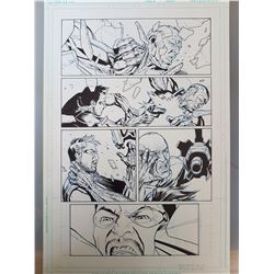 Deus Ex Original Art, Comic Book #6 Page 6 INK