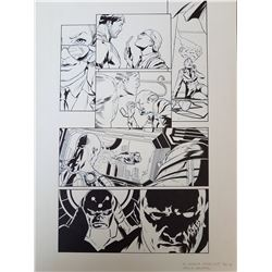 DC Universe Online Legends Original Art, Comic Book #9 Page 7