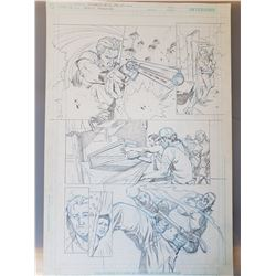 Uncharted 3 Original Art, Comic Book #1 Page 3