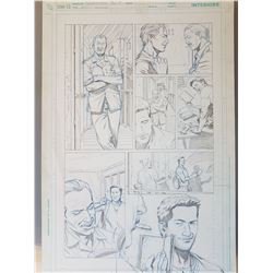 Uncharted 3 Original Art, Comic Book #1 Page 8