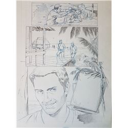 Uncharted 3 Original Art, Comic Book #1 Page 10