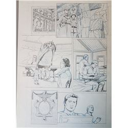 Uncharted 3 Original Art, Comic Book #1 Page 11