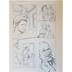 Uncharted 3 Original Art, Comic Book #1 Page 13