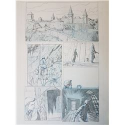 Uncharted 3 Original Art, Comic Book #1 Page 18